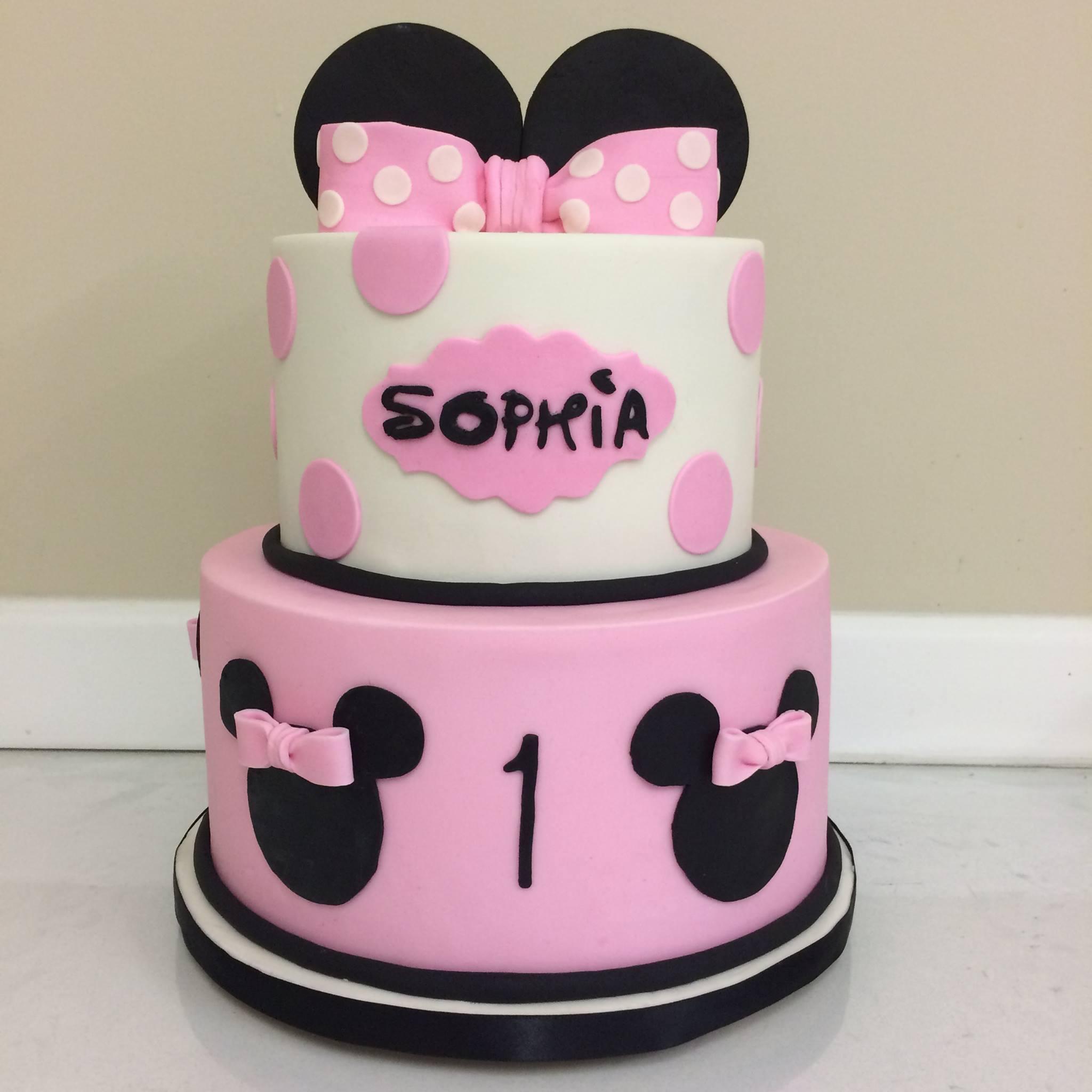 Minnie Mouse Cake Sassychics