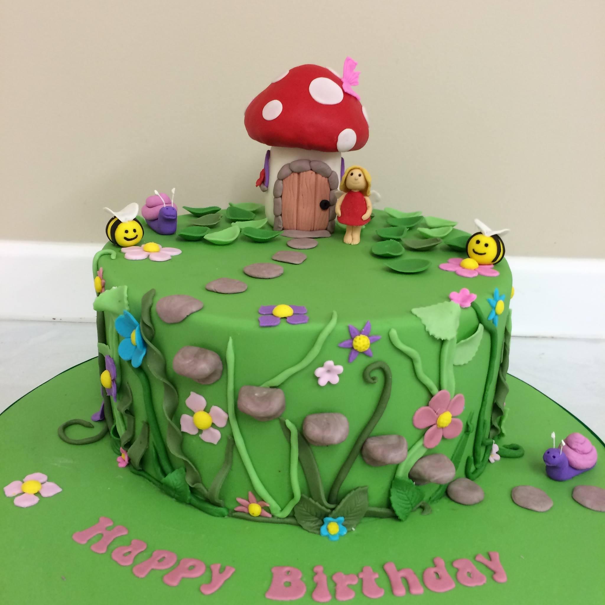 Fairy Garden Cake - SassyChics